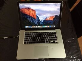 "Macbook Pro. Excellent Laptop. 15.4"" + Webcam."