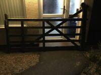 5 BAR WOODEN GATE!