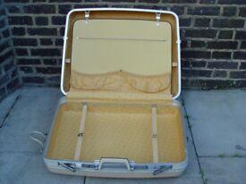 FREE DELIVERY Vintage Echolac Suitcase Retro Mid Century Suitcase
