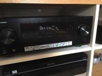 Pioneer VSX-430-K 5.1 Channel AV Receiver w HD Audio Ultra HD 4K Pass Through