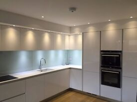 Kitchen for Sale - Mint Condition - Like New - Bargain - RRP 20,000£ - White Gloss - Soft Closing
