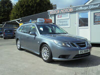 2008 SAAB 9-3 LINAR SE TID 150BHP ,TV, IN ROOF ,,FINANCE AVAILABLE NIL DEPOSIT