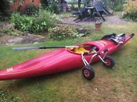 Kayak single seater perception