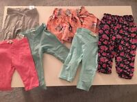 Girls Pants and Skirt Bundle 18-24 Months.