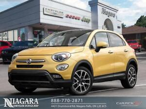 2017 Fiat 500X TREKKING | DUAL SUNROOF | B.UP CAM | REM. START