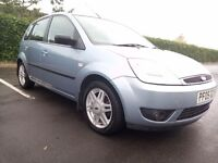 2005 Ford Fiesta Ghia Tdci Full Leather Seat Full Mot Service History Nice Clean And Tidy Car