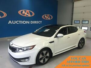 2012 Kia Optima Hybrid Premium,GREAT ON GAS,FINANCE NOW!!
