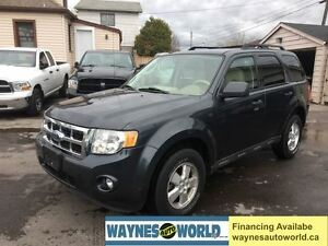 2009 Ford Escape XLT **V6 WITH LEATHER**
