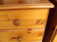Pine three drawer lovely