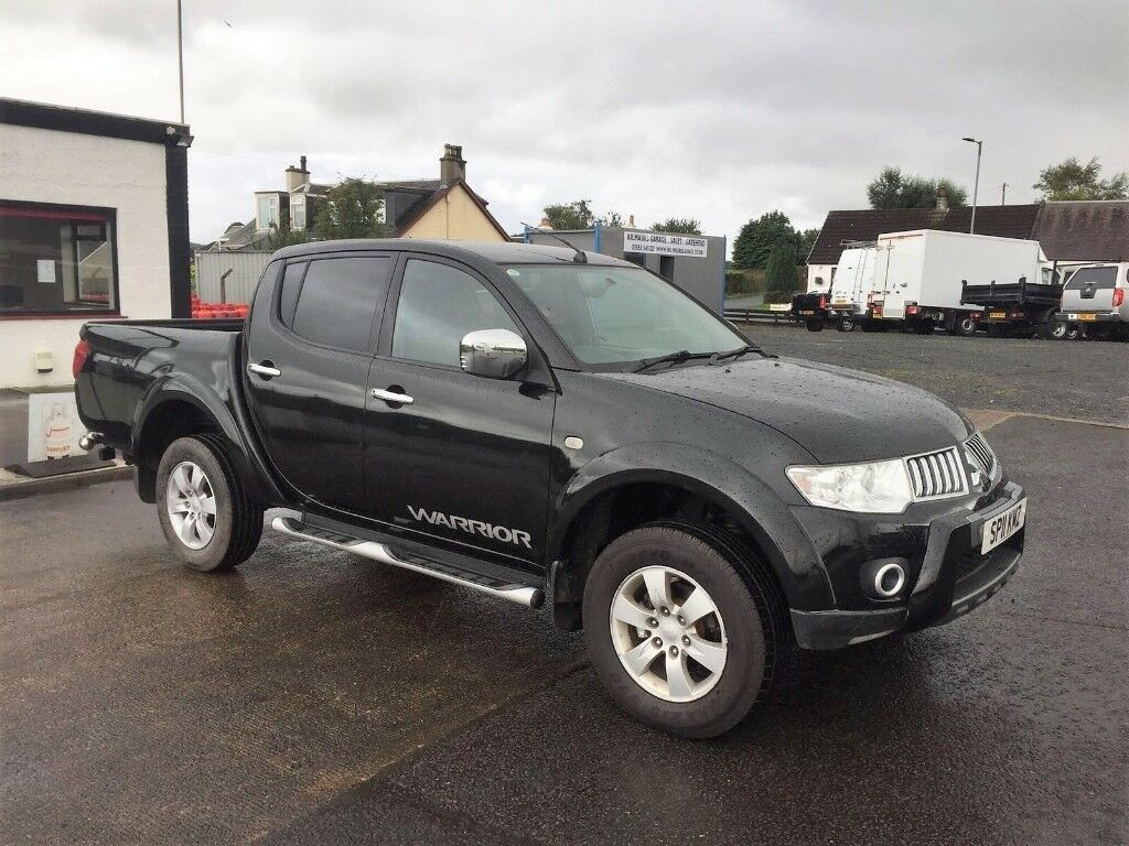 11 mitsubishi l200 warrior double cab pick up in kilmaurs east ayrshire gumtree. Black Bedroom Furniture Sets. Home Design Ideas