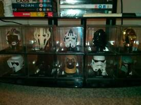 Star Wars Helmets! 11 in Total! £55.00 Reduced to declutter!