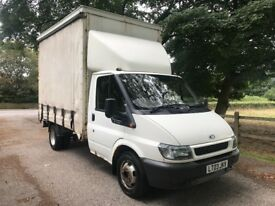 2003 FORD TRANSIT CURTAIN SIDER MWB DRW MANUAL DIESEL LUTON