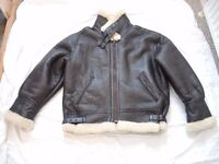 SHEEPSKIN FLYING JACKET WARDROBE CLEAROUT
