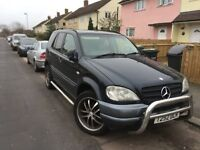 Mercedes ml 320 with extras lovely car