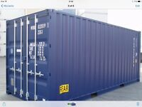 Self storage containers 20x8x8 near Swanley Kent j3 M25 at £120.00 per month in compound