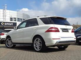 Mercedes-Benz M Class ML250 BLUETEC AMG SPORT (white) 2014-06-16