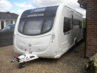 2011 Sterling Eccles JEWEL FIXED BED 4 BERTH CARAVAN