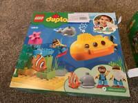 Lego duplo submarine set complete