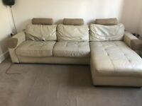 DFS Sofa bed, armchair, footstool