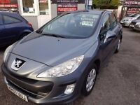 FREE MOTS AS LONG AS YOU OWN THIS CAR 2007 (57) PEUGEOT 308 1.6 S GREY OCT 2018 MOT 82k NEW SERVICE