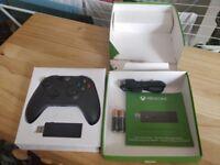 Genuine Microsoft Xbox One Controller + Wireless Adapter for Windows 10