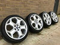 Ford Focus Titanium / ST / C-MAC / Mondeo ser of 18 inch alloys wheels with tyres