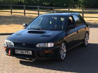 1996 SUBARU IMPREZA TRACK CAR 52K MILES RARE BLACK WRX STI TURBO 2000 UK JDM LOW MILEAGE MUST SEE