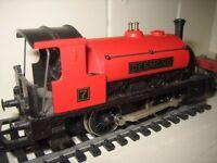 Hornby OO gauge Tank Engine with Wagon/Guardsvan