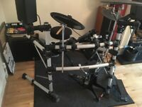 Drum Kit DTX500 with full amplifier and speakers , used once