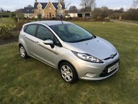 2010 FORD FIESTA 1.2 EDGE SILVER MANUAL **LOVELY CAR** LOW MILEAGE **