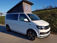 VW Transporter T6 Highline Camper Van 2.0Tdi 4 Berth Top Spec 2016