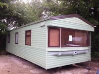 Static caravan for sale off site - Derbyshire