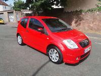 2007(07)CITROEN C2 1.4 HDi FURIO BRIGHT RED,NEW MOT,£30 TAX,BIG MPG,CLEAN CAR,GREAT VALUE