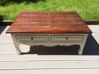 Laura Ashley Coffee Table - french cottage chic