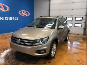 2015 Volkswagen Tiguan Highline 4MOTION (AWD)/ PANO ROOF/ LEA...