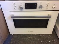 BOSCH EXXCEL COMBINATION MICROWAVE OVEN