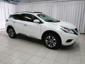 2015 Nissan Murano SV AWD SUV WITH NAVIGATION, HEATED SEATS, PUS