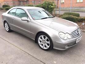 Stunning 2003 53 Mercedes Clk270Cdi Elegance Auto **Full History+Leather+Sat Nav+Warranty**