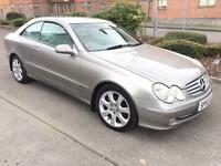 Stunning 2003 53 Mercedes Clk270Cdi Elegance Auto **Full History+Leather+Sat Nav+Warranty**