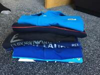 OTO Collection of branded t-shirts and polo tops. Can sell separate