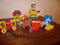 Duplo Circus building blocks
