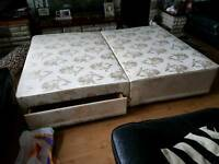Double bed 4ft 6inch base