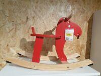 RESERVED - EKORRE Rocking-moose, IKEA MILTON KEYNES #bargaincorner