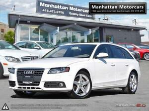 2012 AUDI A4 WAGON 2.0T QUATTRO PREMIUM+ |PHONE|PANORAMIC|LOADED