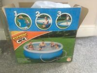 Very large family paddling pool