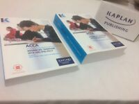 ACCA P6 Advance Taxation (UK) Study text and Revision Kit for sale.