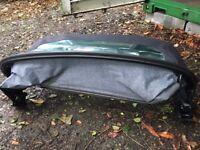 Porsche Boxster soft top (blue) excellent condition