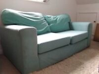 Mint Green large two/three seater sofa