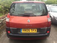 2005 RENAULT SCENIC 1.5 DCI+12 MONTH MOT+FULL SERVICE HISTORY+98,000 MILES+HPI CLEAR