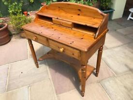 Ducal solid pine desk/dresser/table